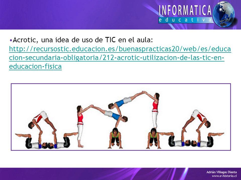 Acrotic, una idea de uso de TIC en el aula: