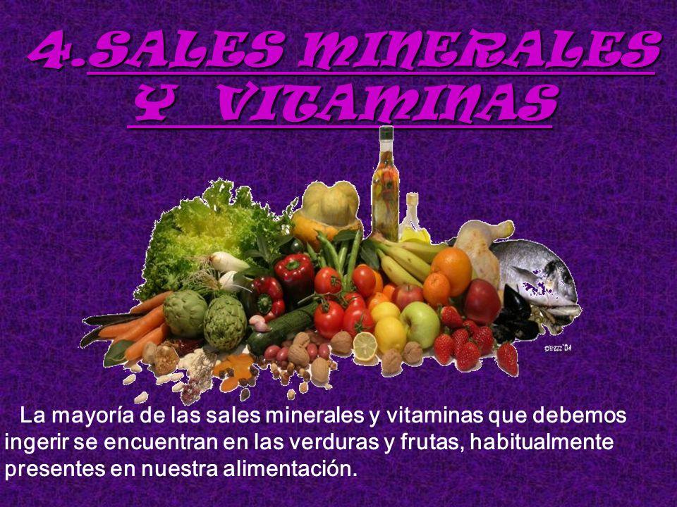SALES MINERALES Y VITAMINAS