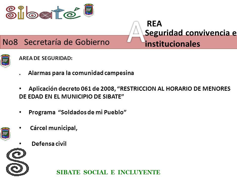 SIBATE SOCIAL E INCLUYENTE