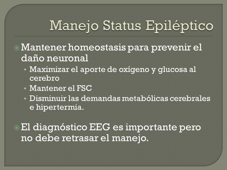 Manejo Status Epiléptico