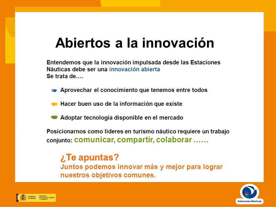 Abiertos a la innovación