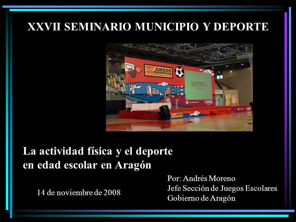 XXVII SEMINARIO MUNICIPIO Y DEPORTE