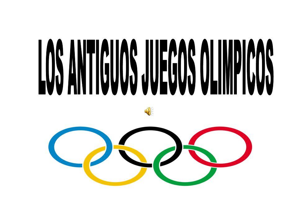 LOS ANTIGUOS JUEGOS OLIMPICOS