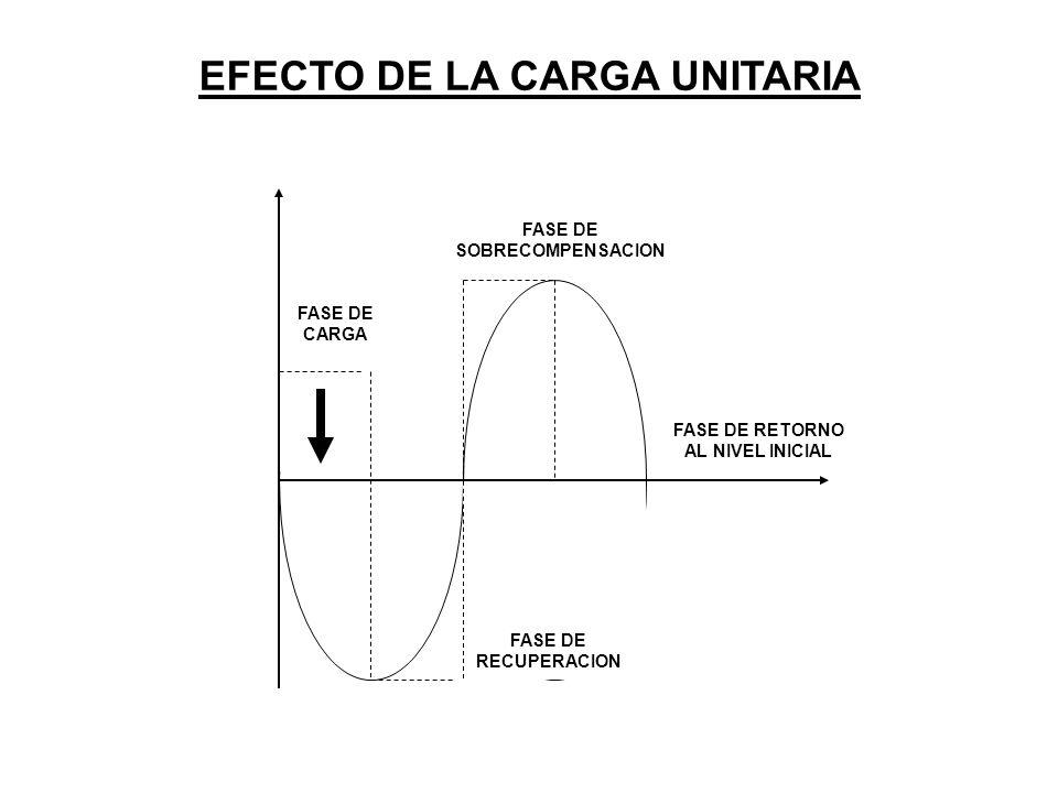 EFECTO DE LA CARGA UNITARIA