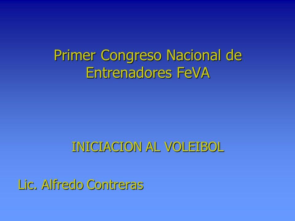 Primer Congreso Nacional de Entrenadores FeVA