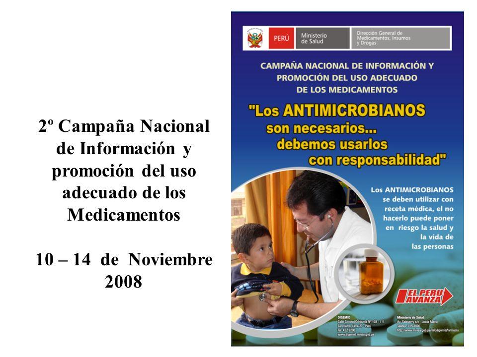 2º Campaña Nacional de Información y promoción del uso adecuado de los Medicamentos