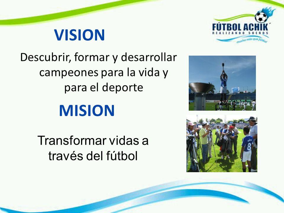 Transformar vidas a través del fútbol