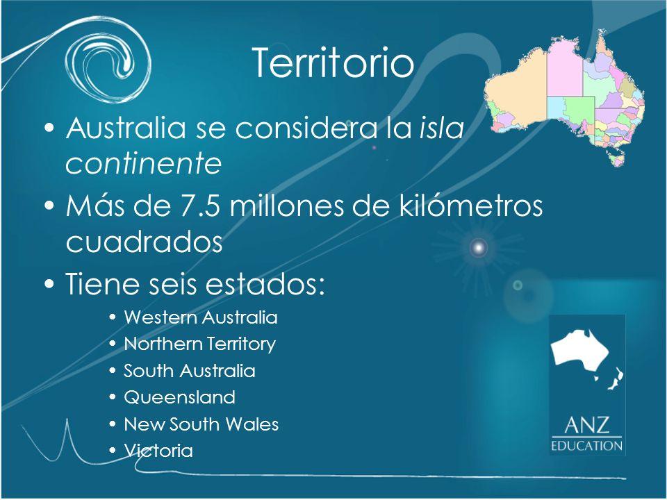 Territorio Australia se considera la isla continente