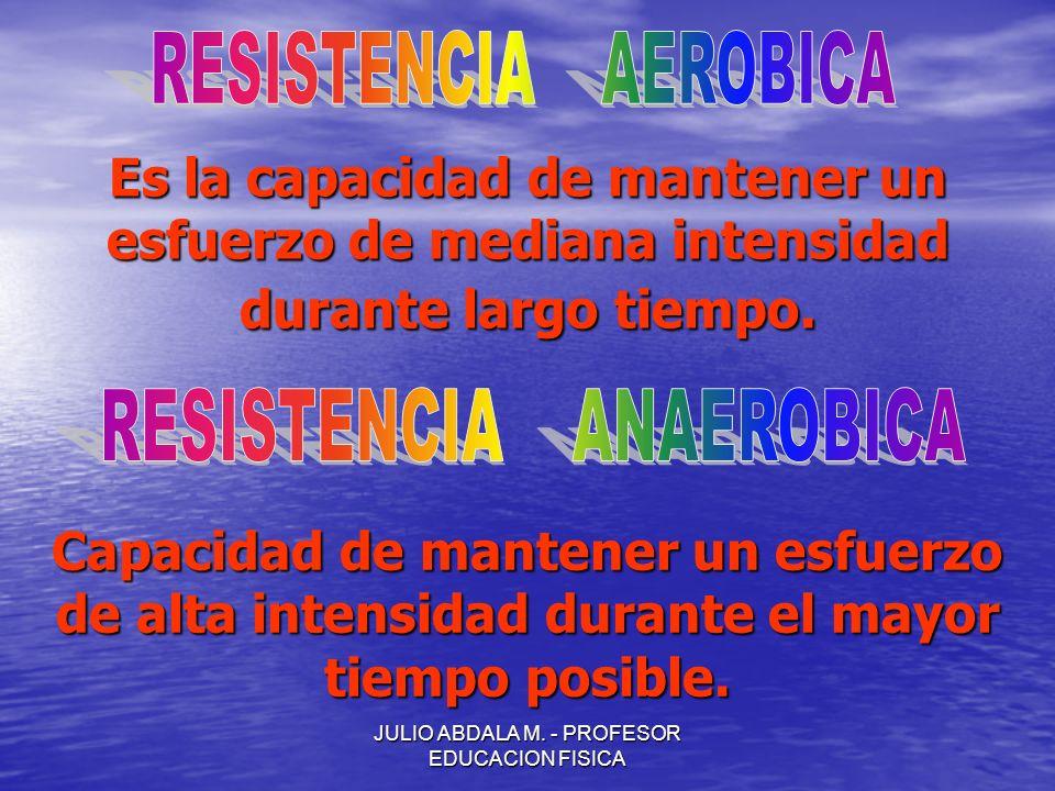 RESISTENCIA ANAEROBICA