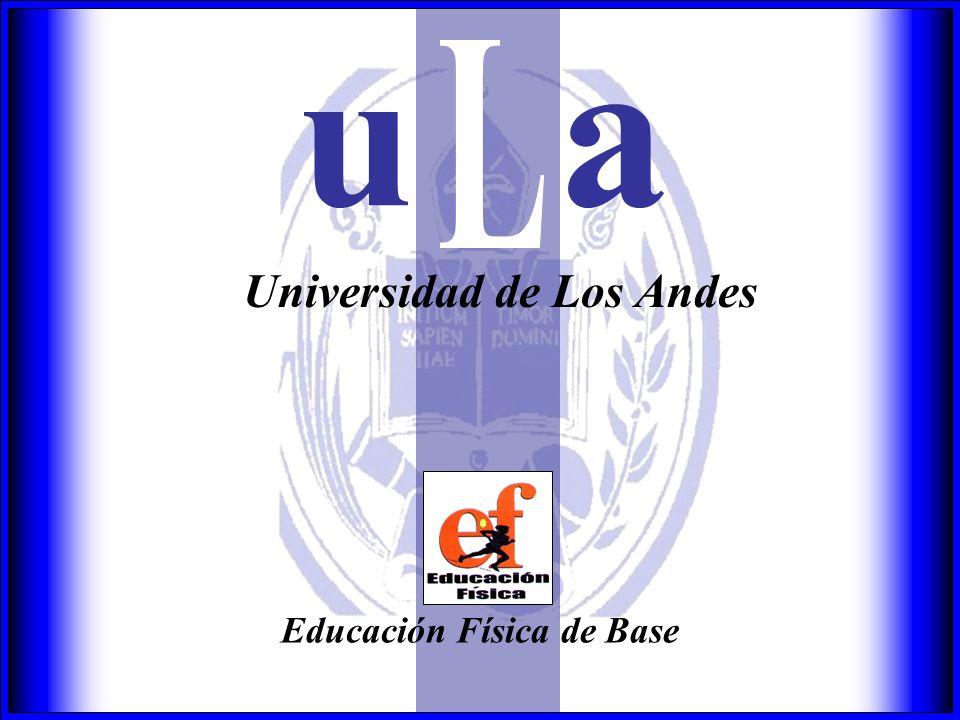 Universidad de Los Andes Educación Física de Base