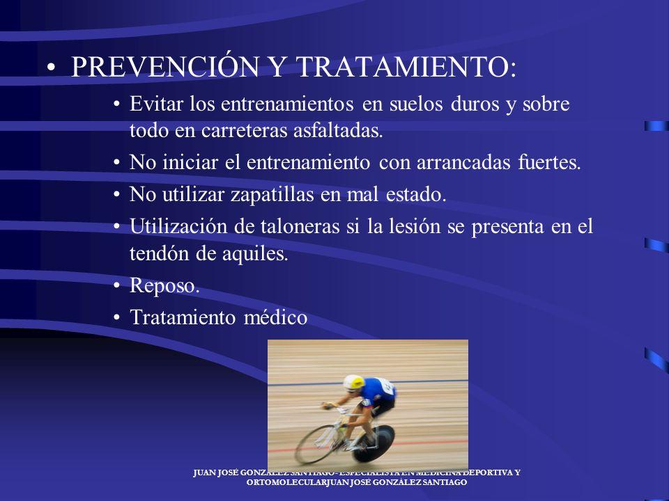 PREVENCIÓN Y TRATAMIENTO: