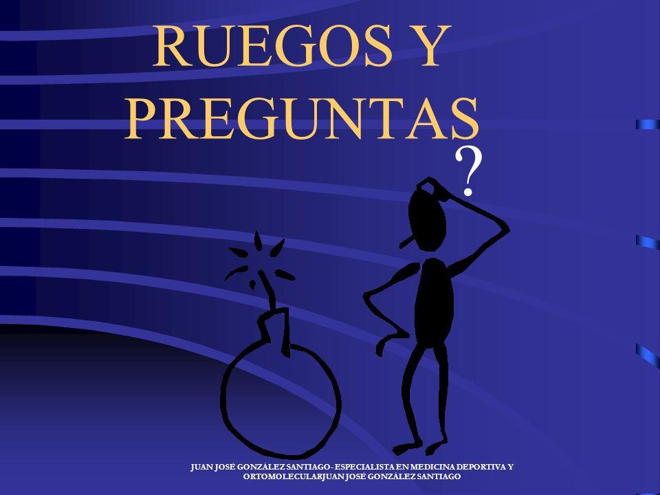 RUEGOS Y PREGUNTAS .
