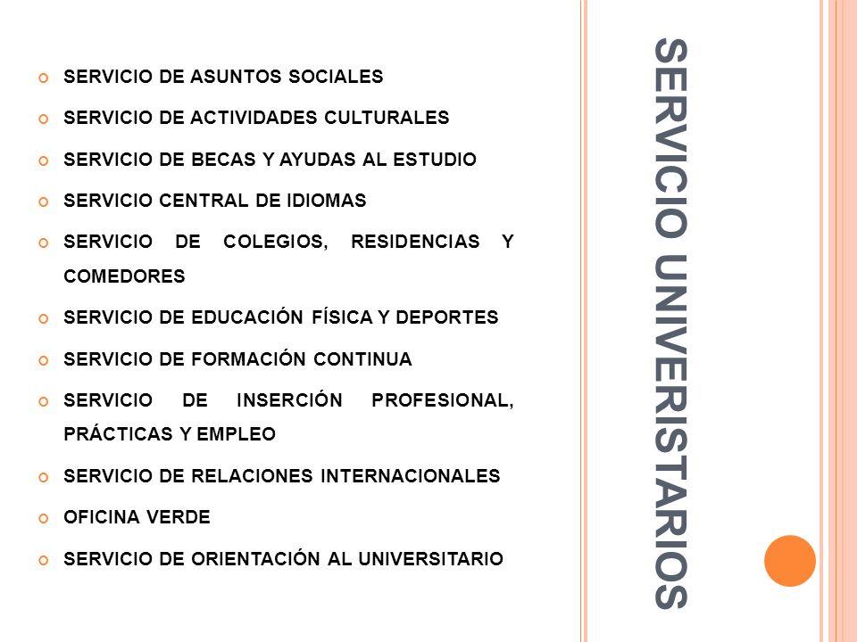 SERVICIO UNIVERISTARIOS