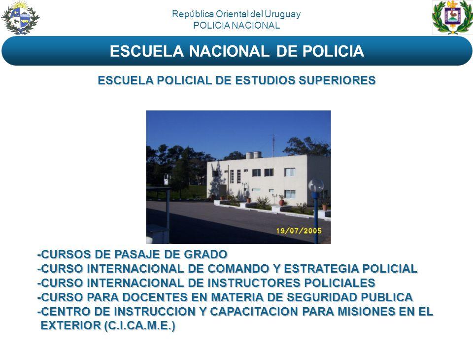ESCUELA NACIONAL DE POLICIA ESCUELA POLICIAL DE ESTUDIOS SUPERIORES