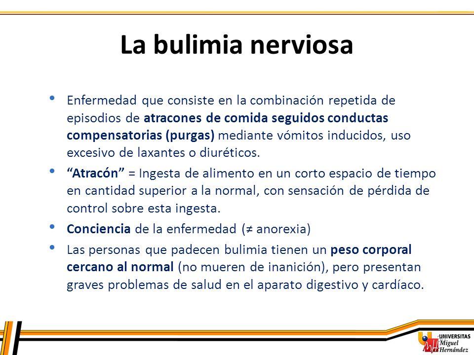 La bulimia nerviosa
