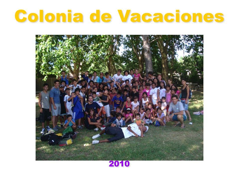 Colonia de Vacaciones 2010