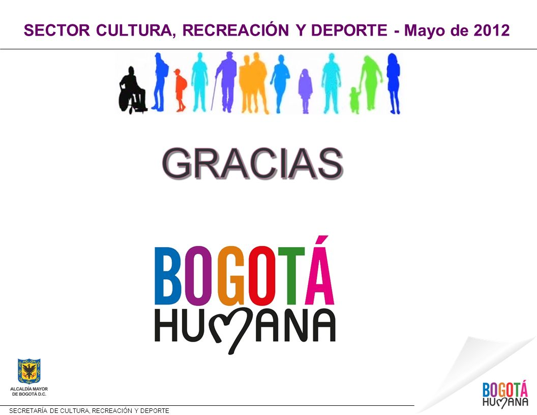 SECTOR CULTURA, RECREACIÓN Y DEPORTE - Mayo de 2012