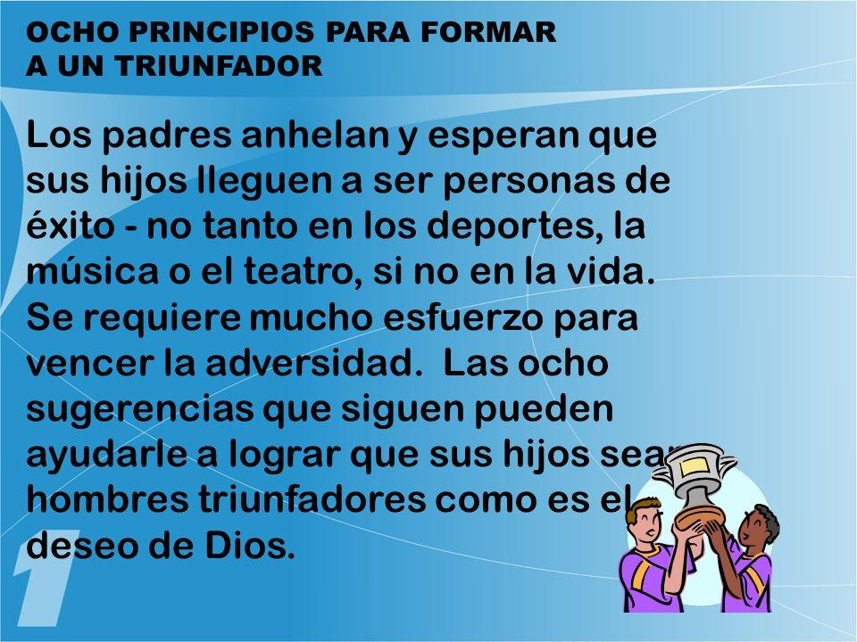 OCHO PRINCIPIOS PARA FORMAR