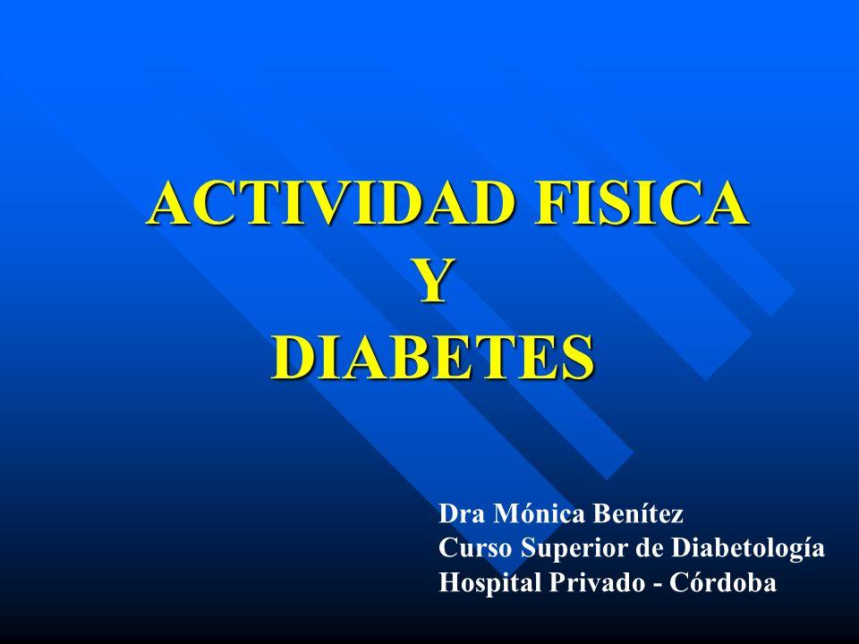 ACTIVIDAD FISICA Y DIABETES