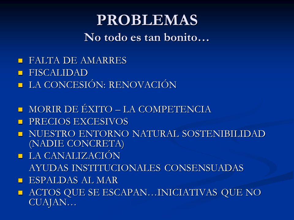 PROBLEMAS No todo es tan bonito…