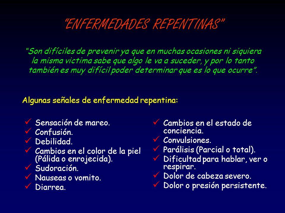ENFERMEDADES REPENTINAS