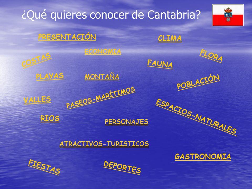 ¿Qué quieres conocer de Cantabria