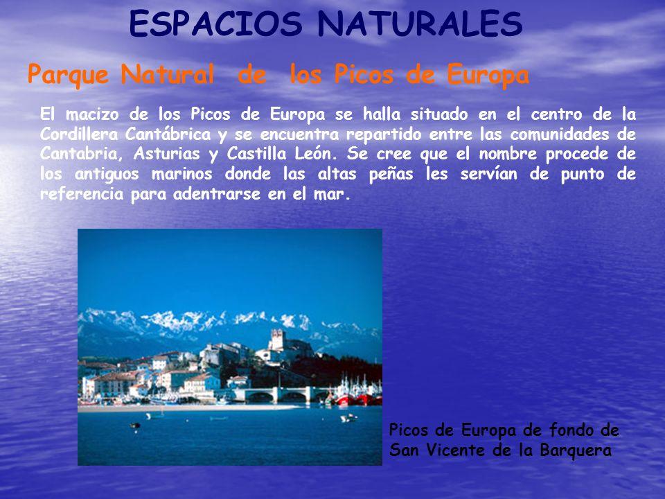 ESPACIOS NATURALES Parque Natural de los Picos de Europa