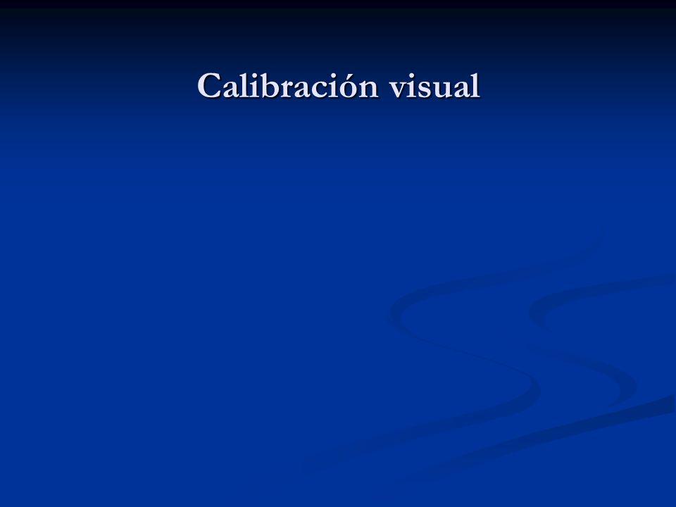 Calibración visual