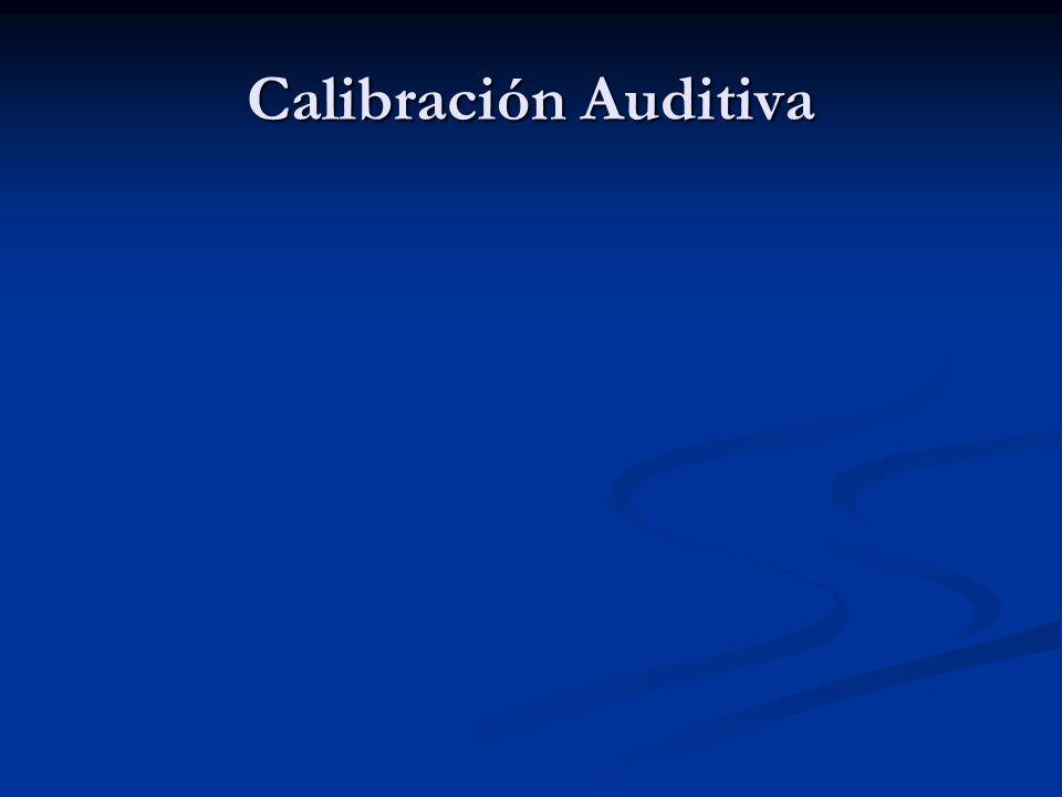 Calibración Auditiva