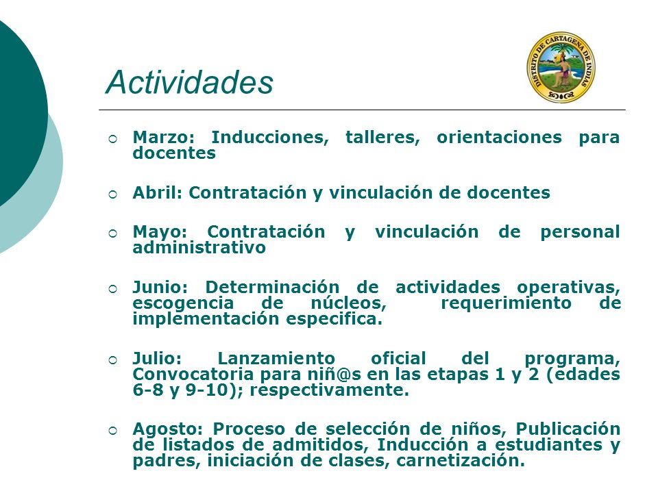 Actividades Marzo: Inducciones, talleres, orientaciones para docentes