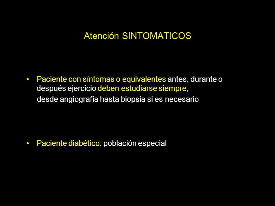 Atención SINTOMATICOS
