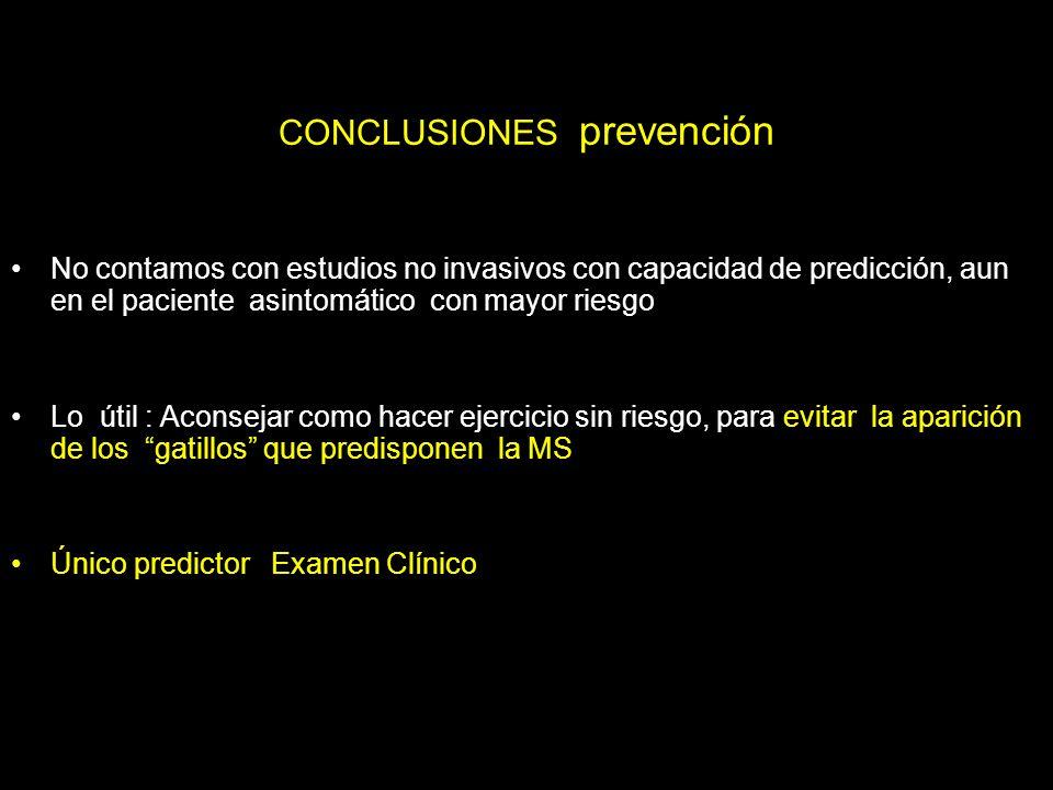 CONCLUSIONES prevención