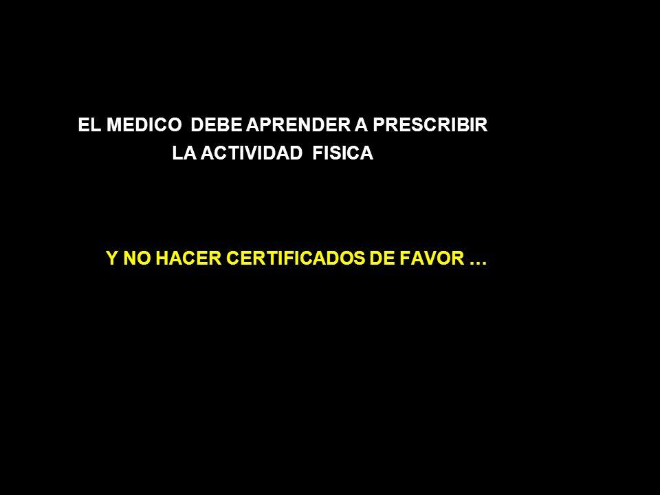 EL MEDICO DEBE APRENDER A PRESCRIBIR