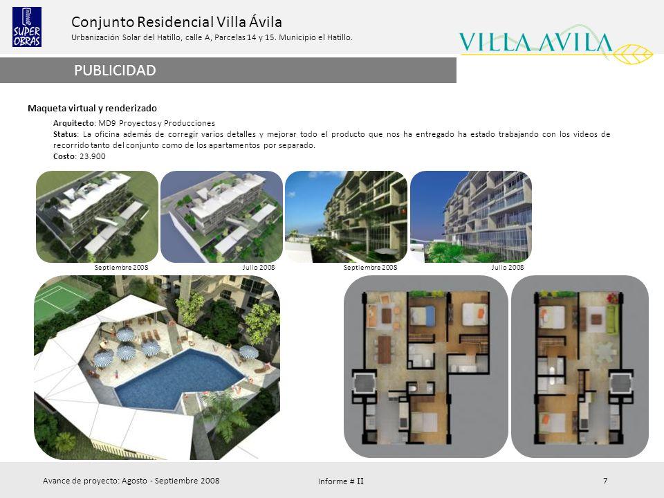PUBLICIDAD Maqueta virtual y renderizado