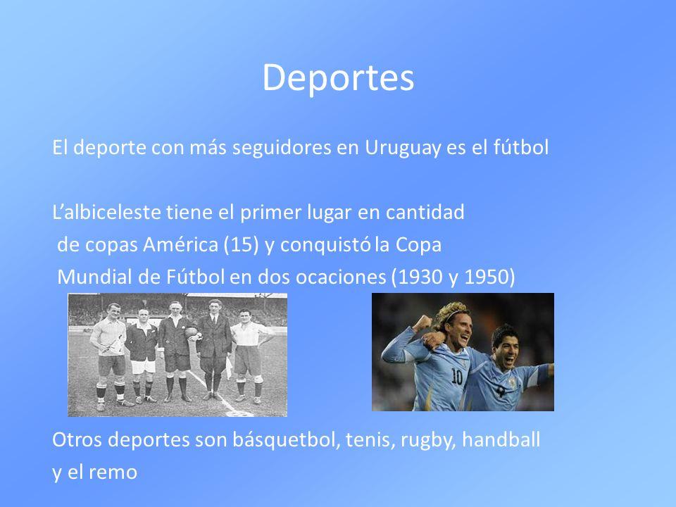 Deportes El deporte con más seguidores en Uruguay es el fútbol