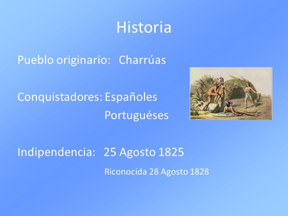 Historia Pueblo originario: Charrúas Conquistadores: Españoles