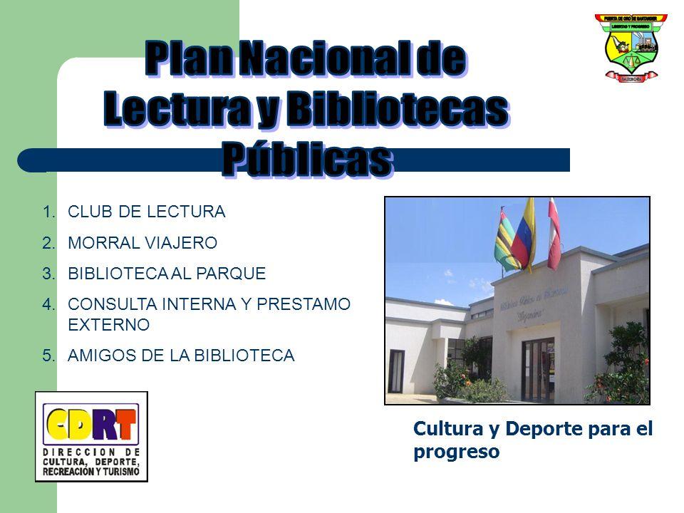 Plan Nacional de Lectura y Bibliotecas Públicas