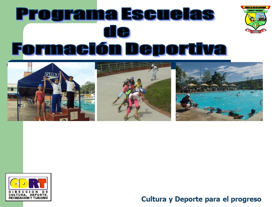 Programa Escuelas de Formación Deportiva