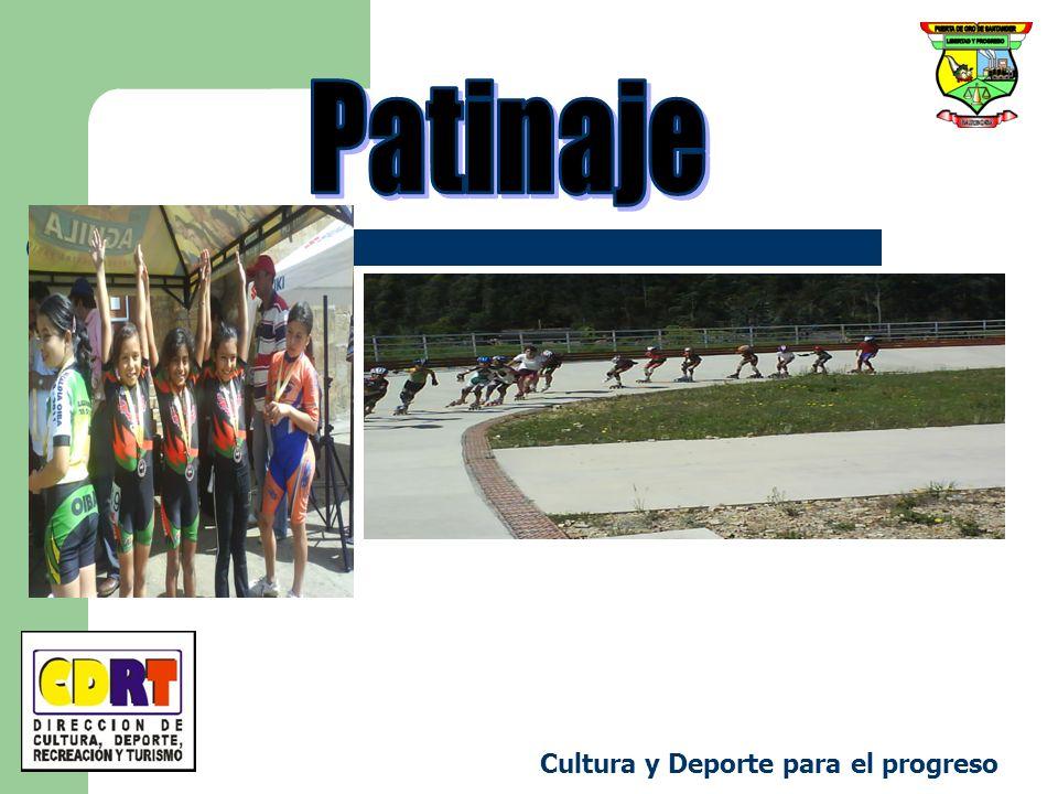 Patinaje Cultura y Deporte para el progreso