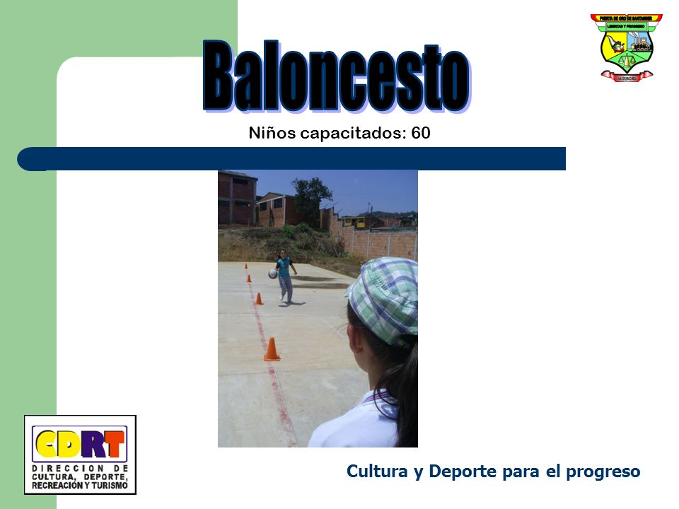Baloncesto Niños capacitados: 60 Cultura y Deporte para el progreso