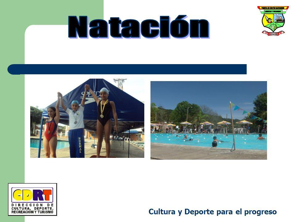 Natación Cultura y Deporte para el progreso