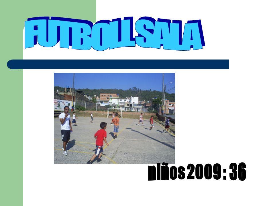 FUTBOLL SALA niños 2009 : 36