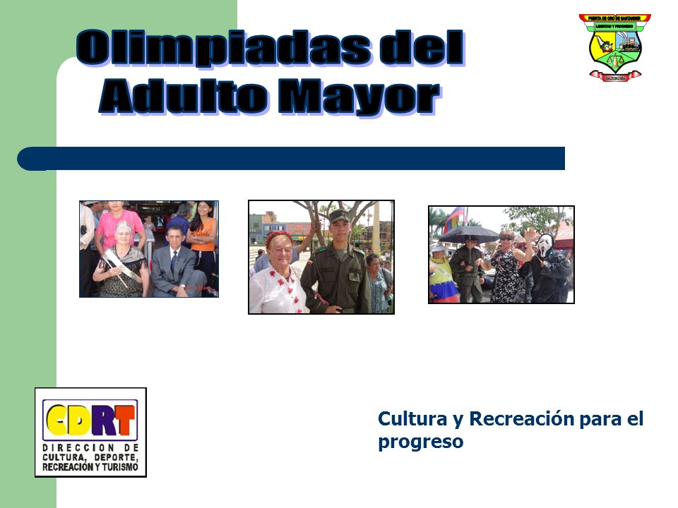 Olimpiadas del Adulto Mayor