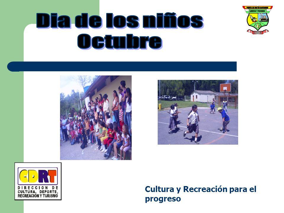 Dia de los niños Octubre