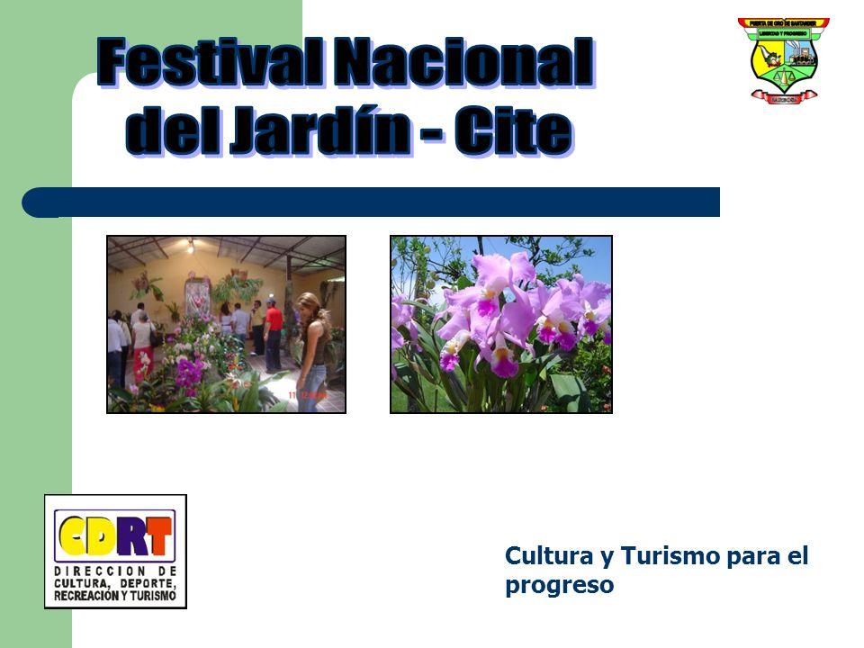 Festival Nacional del Jardín - Cite