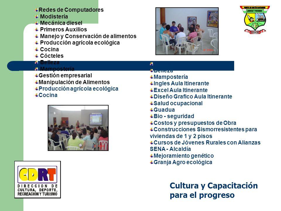 Cultura y Capacitación para el progreso