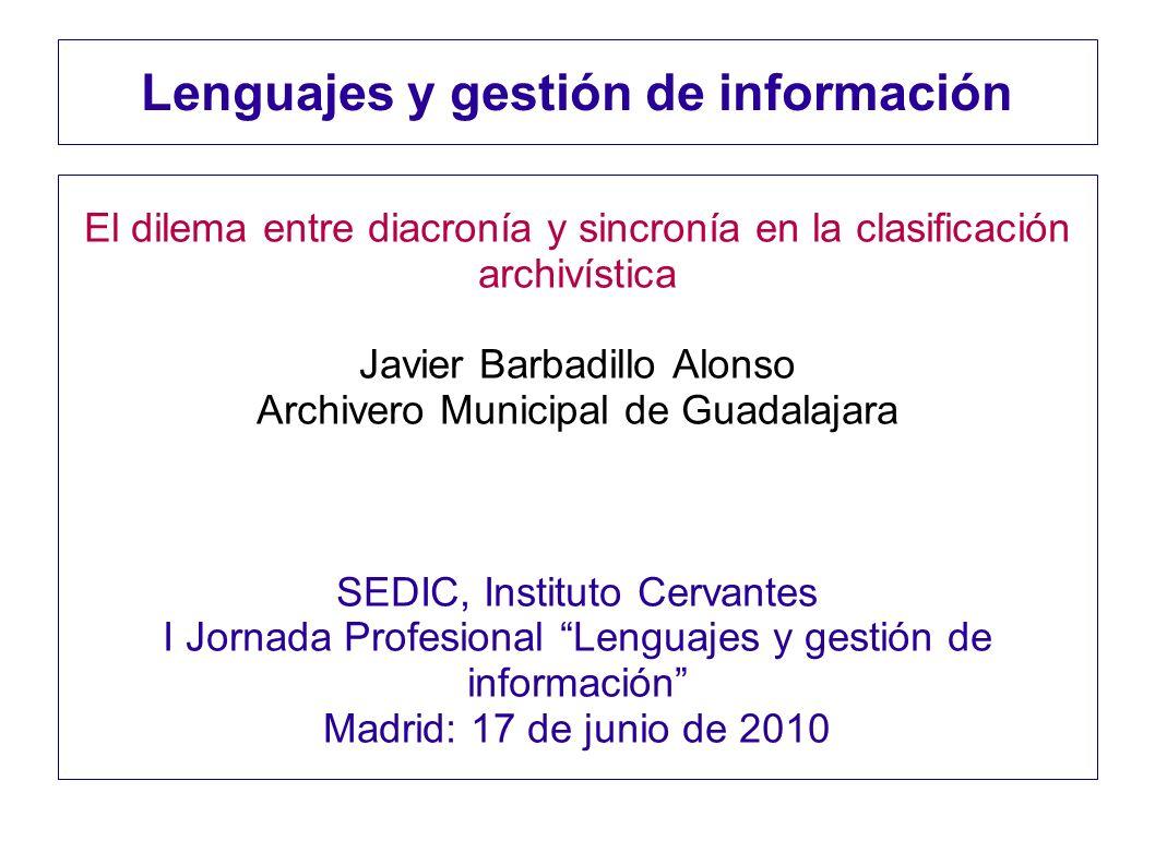 Lenguajes y gestión de información