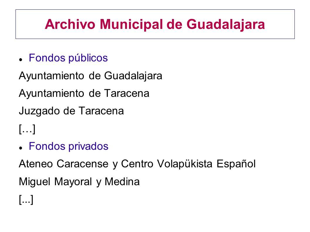 Archivo Municipal de Guadalajara