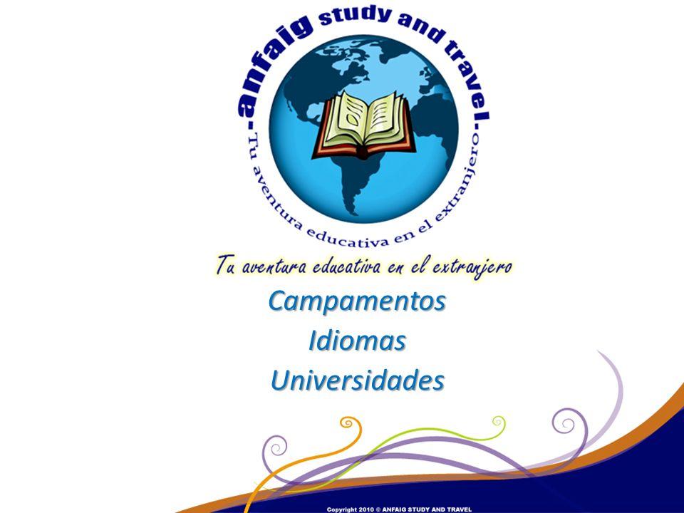 Campamentos Idiomas Universidades