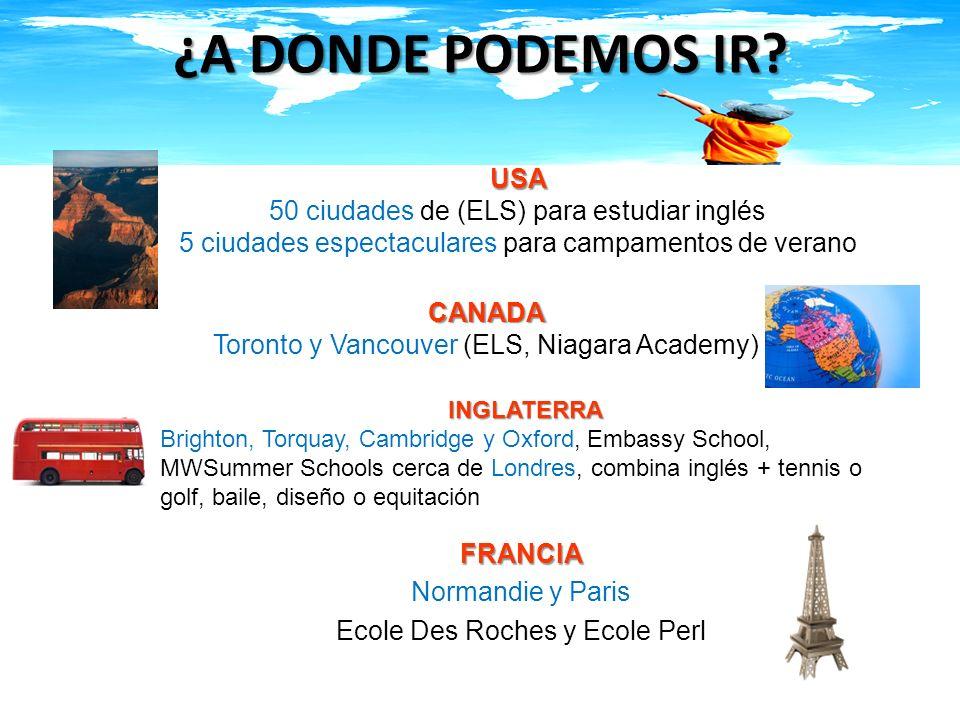 FRANCIA Normandie y Paris Ecole Des Roches y Ecole Perl